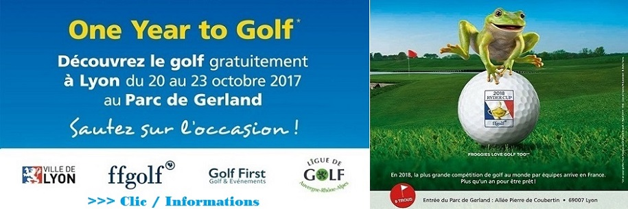 One Year To Golf à Gerland